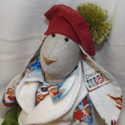Кукла Тильда - Рождественский Кролик 2 - IMLab JUST PROFESSIONAL TAILOR