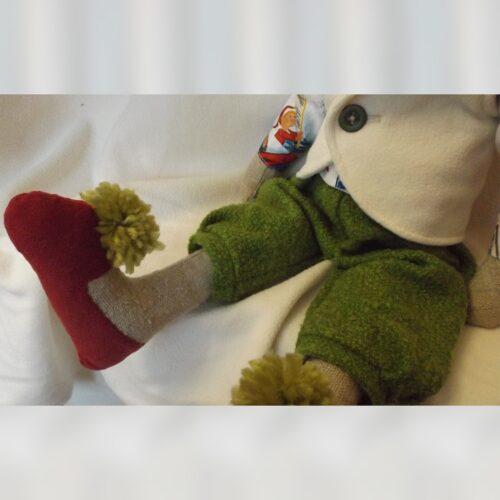 Кукла Тильда - Рождественский Кролик 3 - IMLab JUST PROFESSIONAL TAILOR
