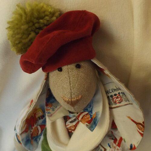 Кукла Тильда - Рождественский Кролик 4 - IMLab JUST PROFESSIONAL TAILOR