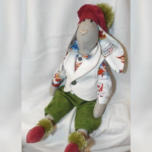 Кукла Тильда - Рождественский Кролик 1 - IMLab JUST PROFESSIONAL TAILOR