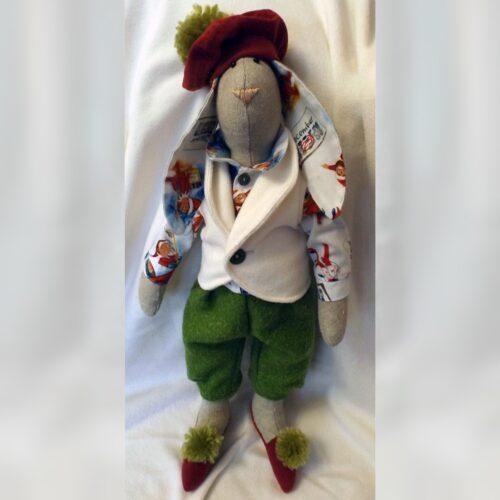 Кукла Тильда - Рождественский Кролик 7 - IMLab JUST PROFESSIONAL TAILOR